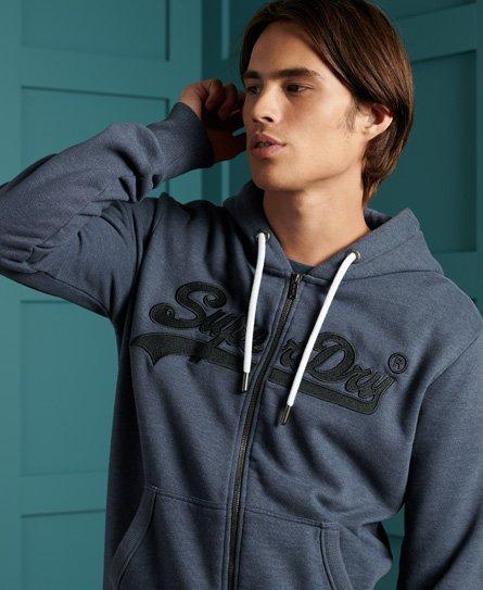 Sweat zippé à capuche à logo brodé Vintage Logo - Superdry - Modalova