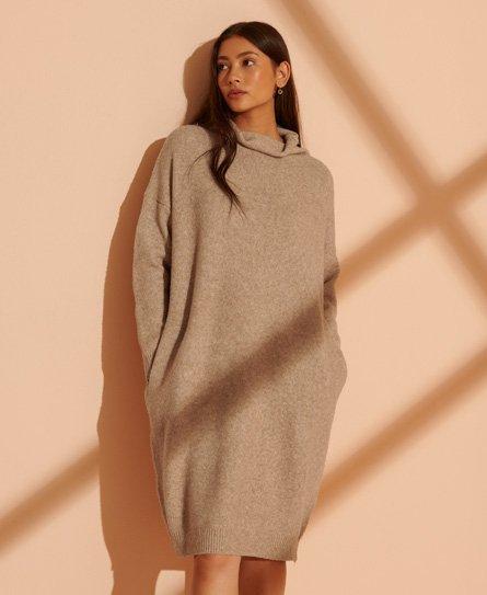 Superdry Isabella Funnel Neck Dress