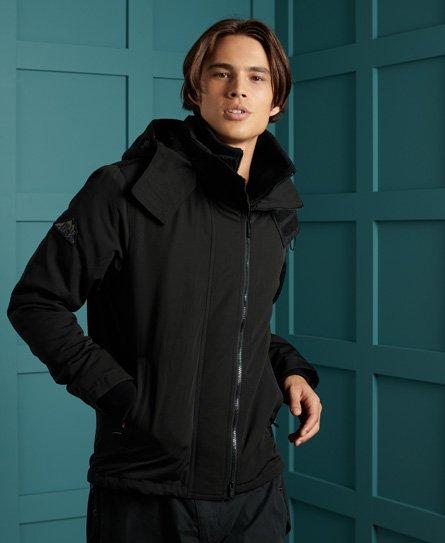 Veste à capuche en tweed zippée Fuji - Superdry - Modalova
