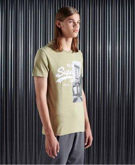 Superdry Vintage Logo T-Shirt mit NYC-Fotoprint