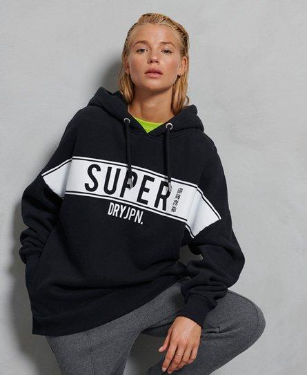 Sweat à capuche à empiècement - Superdry - Modalova