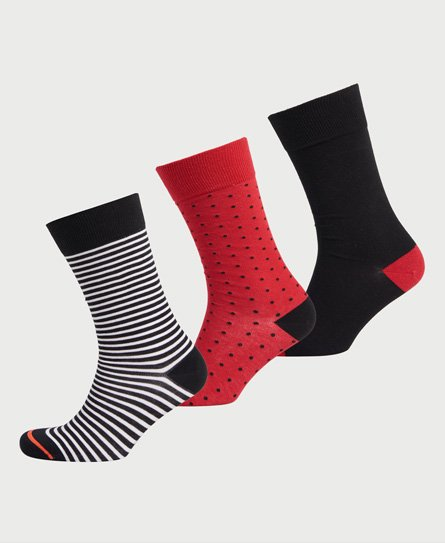 Lot de 2 paires de chaussettes de sport invisibles - Superdry - Modalova