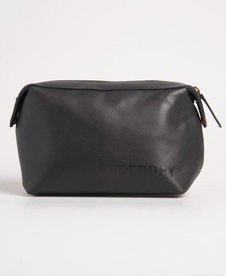 Superdry Vermont Leather Washbag