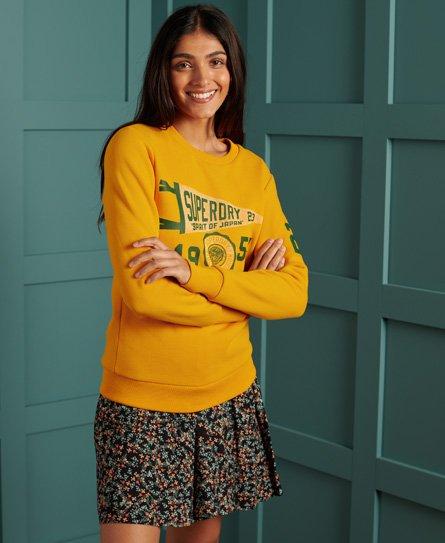 Superdry Klassiek Track & Field Sweatshirt met ronde halslijn