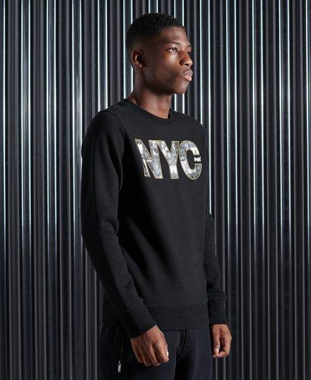 Superdry Vintage Logo Sweatshirt mit NYC-Fotoprint