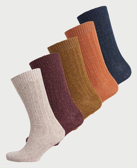 Coffret-cadeau chaussettes à nauds Lowell - Superdry - Modalova