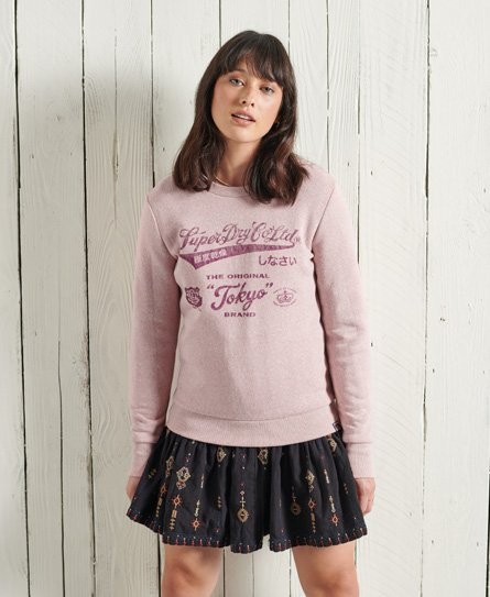 Superdry Re-worked Classics Crew Sweatshirt