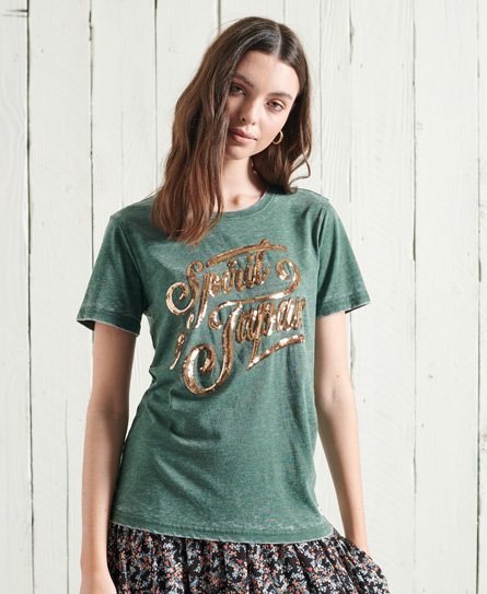 Superdry Off Piste Sparkle T-Shirt