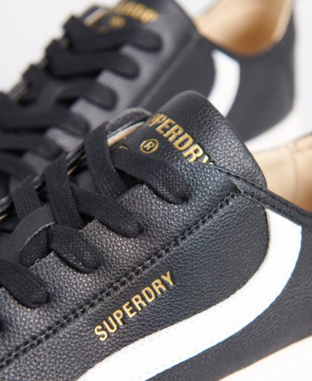 Superdry Vegan Basket Lux Low Trainers