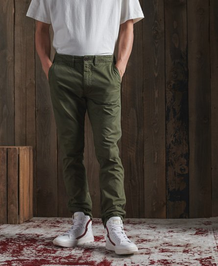 Superdry Limited Edition Dry Officer chinobroek