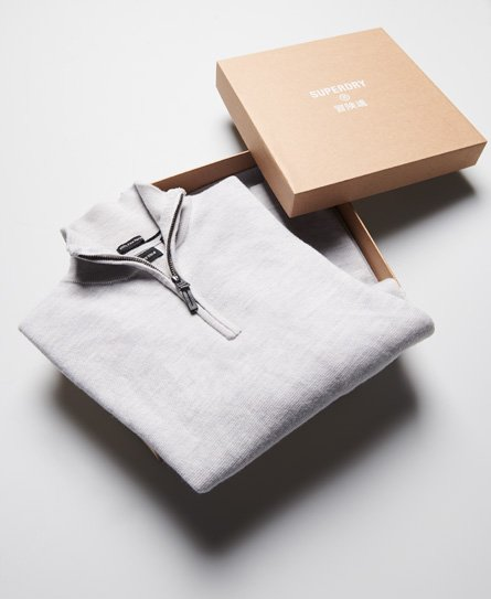 Superdry Merino Henley Jumper Gift Box