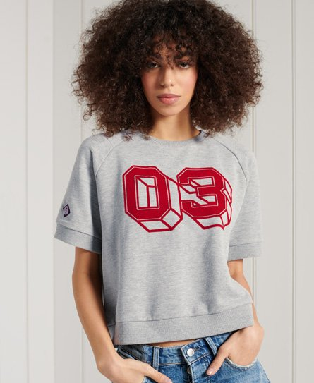 Superdry Collegiate Colour Block Sweat T-Shirt