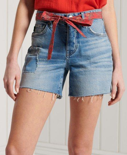 Superdry Vintage Mid Rise Slim Shorts