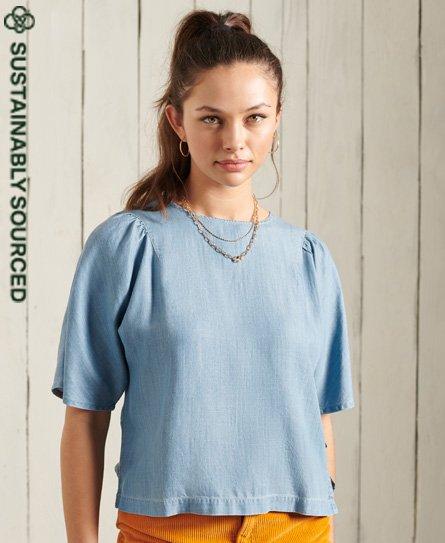 Superdry Tencel Woven T-Shirt