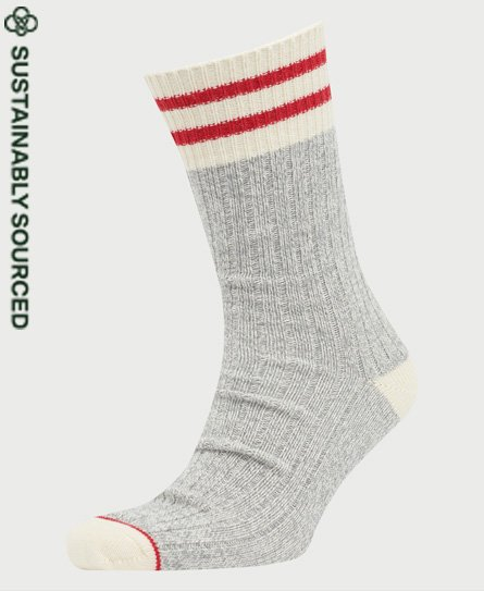 Superdry Heritage Socken aus Bio-Baumwolle