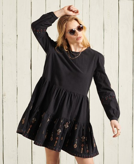 Superdry Anisa Embroidered Dress