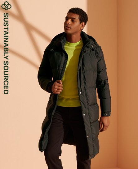 Superdry Limited Edition Longline Recycled Down Jacket