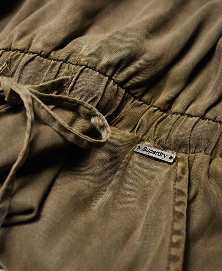 41816011fac793 Womens - Cargo Casual Jumpsuit in Urban Khaki   Superdry