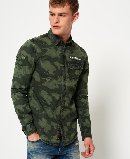 Superdry Combat Long Sleeve Shirt