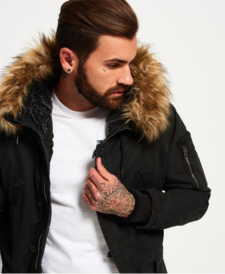 Superdry Rookie Heavy Weather Parka Jacket