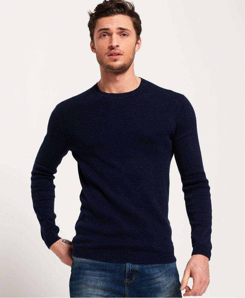 Superdry Supima Cotton Crew Neck Sweatshirt