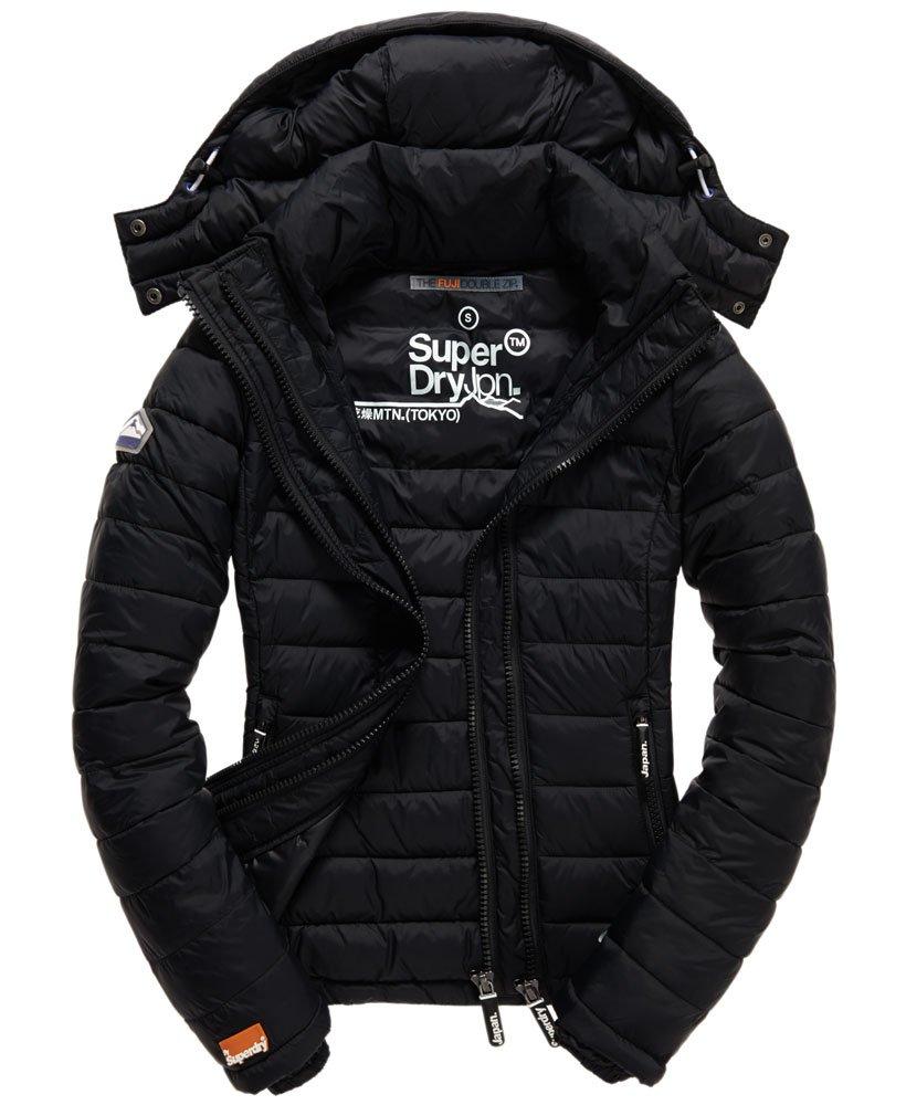 Superdry Fuji Jacke mit Doppelreißverschluss Damen Jacken