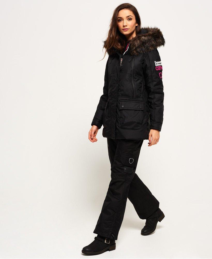 Superdry Canadian Down Ski Parka Jacket - Womens Superdry Snow a5e4ef0bd