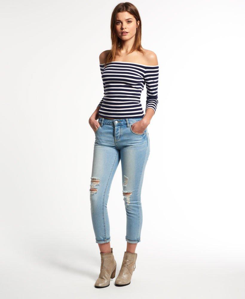 Superdry Riley Girlfriend Jeans 0