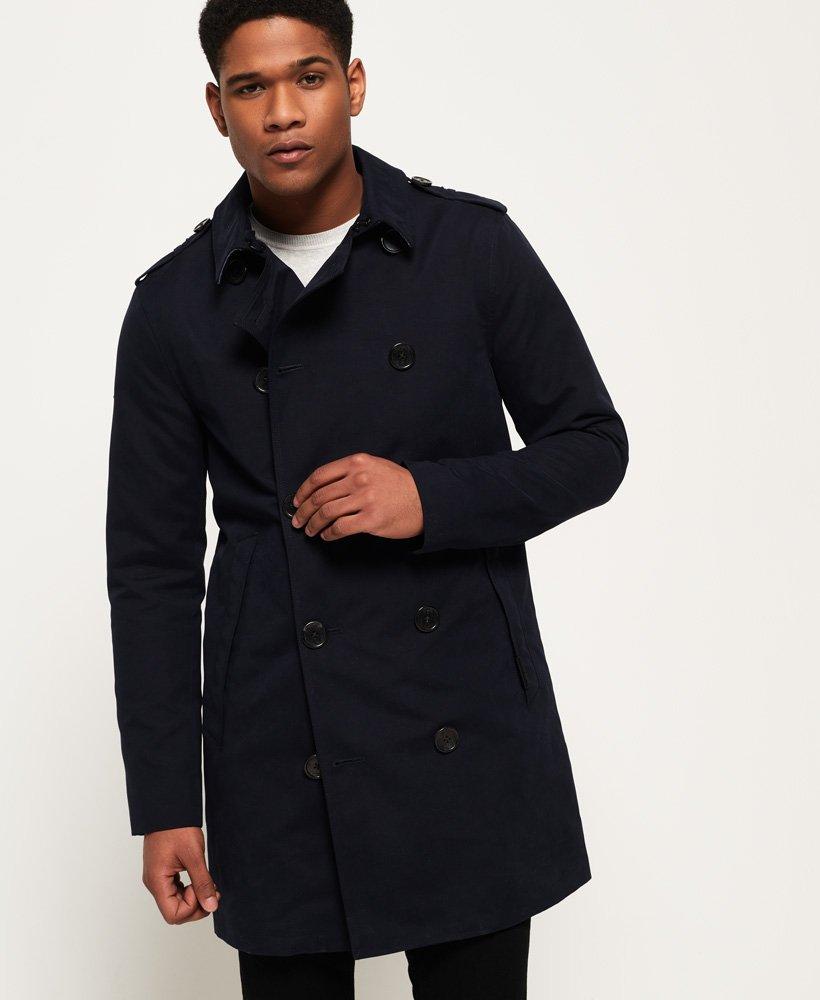 Manteau Imperméable Pour Homme Façon Trench Rogue