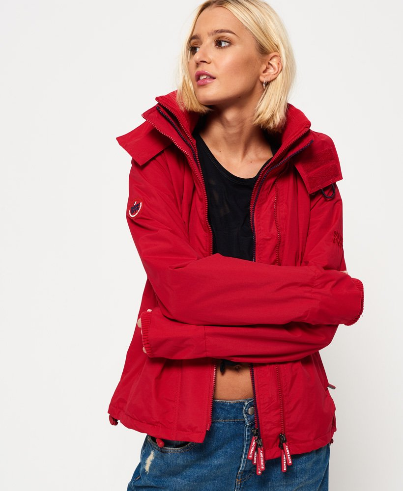 Superdry Pop Zip Arctic SD-Windcheater vindjacka med huva  thumbnail 1