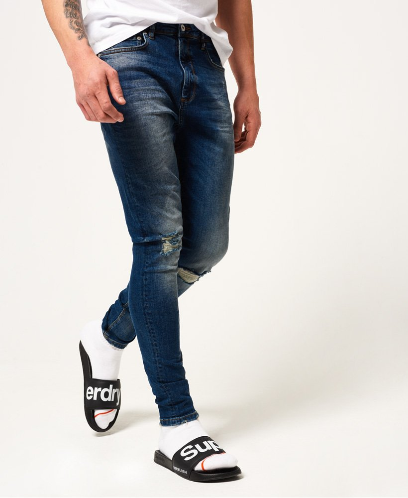 mens superdry ripped jeans