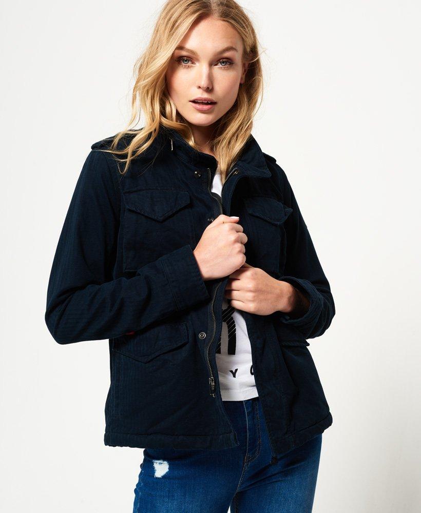 Rookie Jacket Women's Superdry Coats Jacketsamp; Military Winter FKu3lTc1J