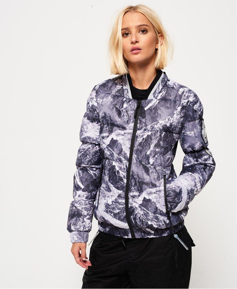 Superdry - Blouson bomber Mountain - Vestes et manteaux pour Femme f8a21f7716ba