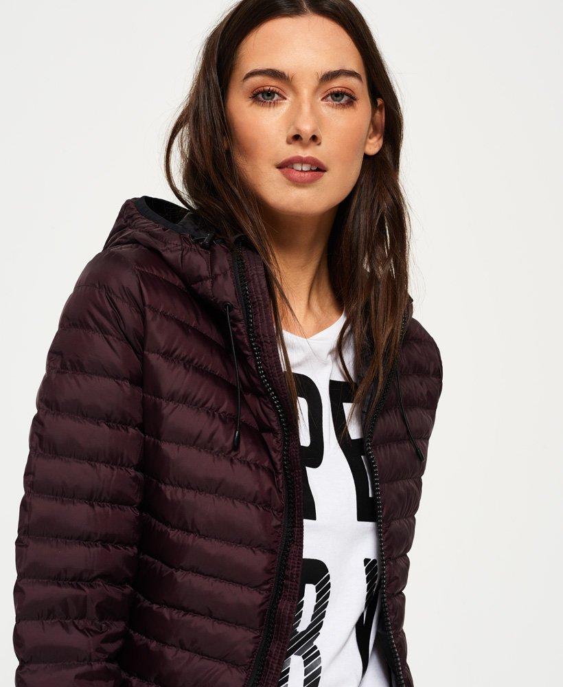 grande vente 930b0 1e99d Superdry - Doudoune à capuche Core - Vestes et manteaux pour ...