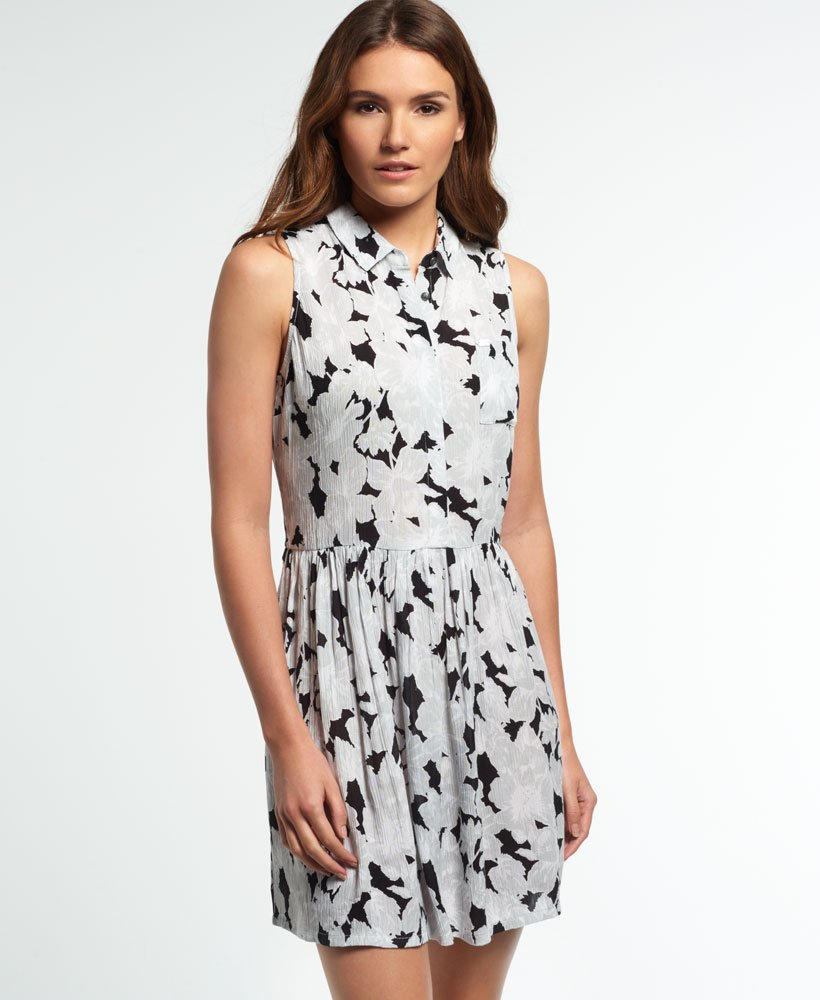 Superdry Ingbritt Shift Collar Dress