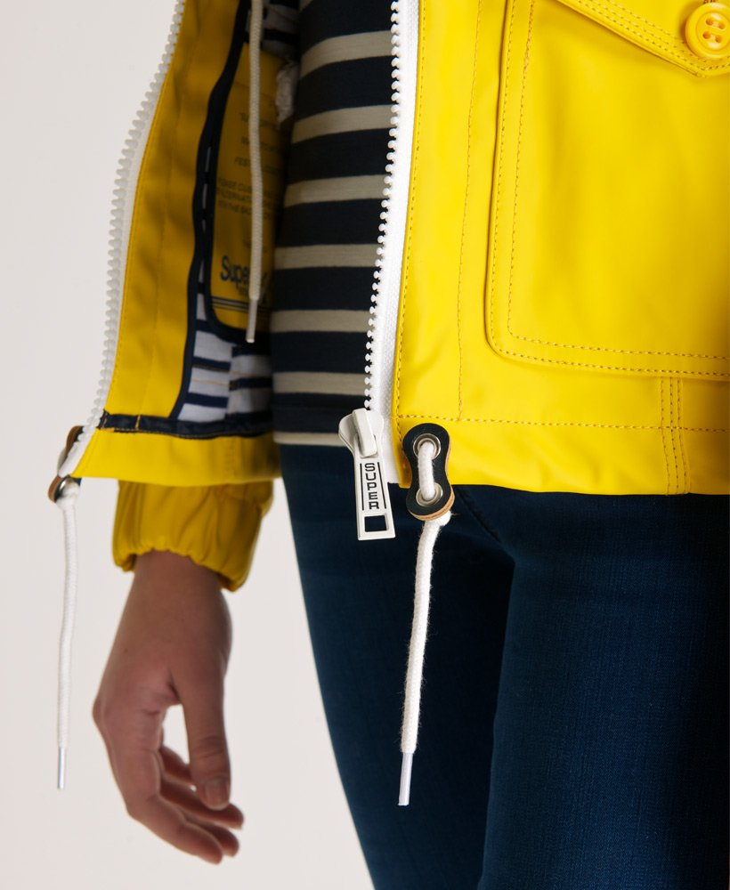 Womens Boat Jacket in Trawler Yellow