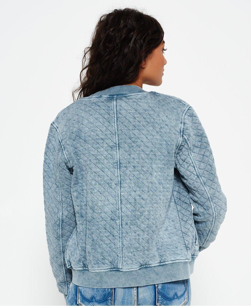 f86cd438d Superdry Beach Micro Jersey Bomber Jacket - Women's Jackets & Coats