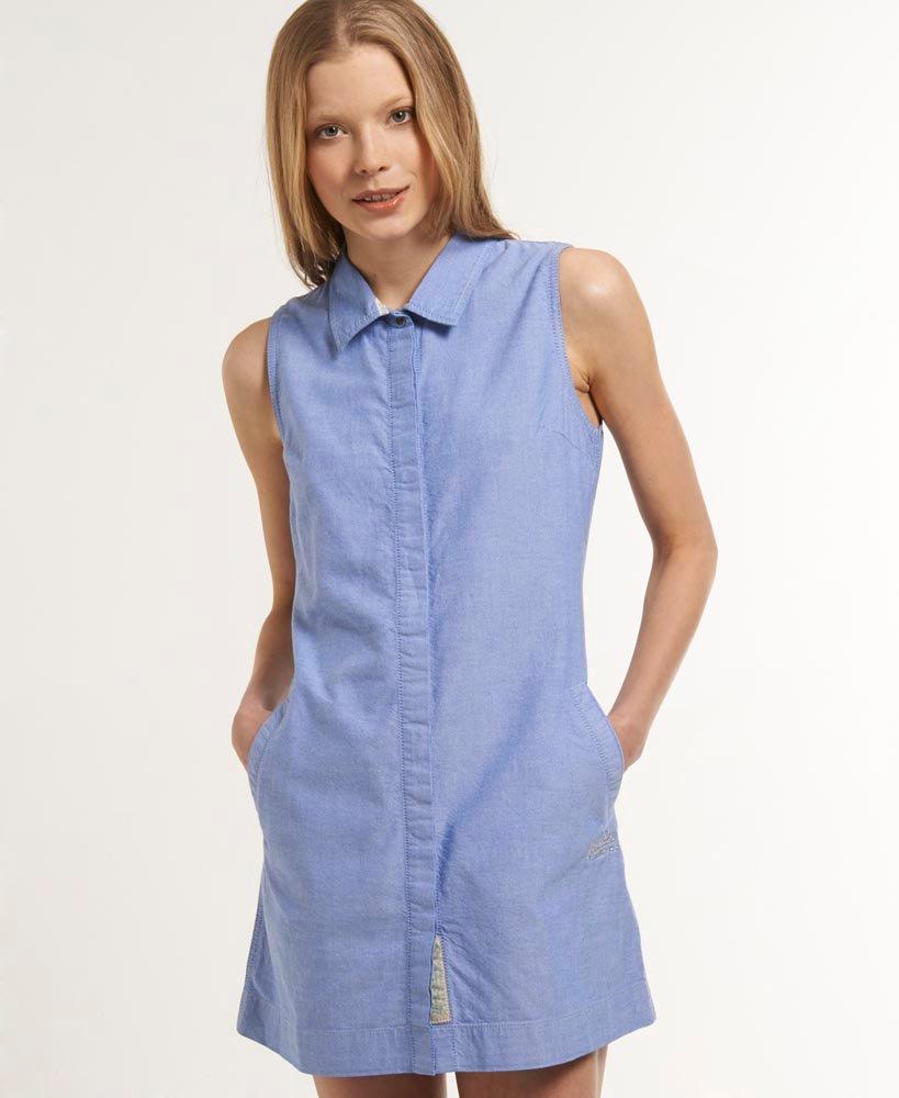 Superdry Preppy Shift Shirt-Dress