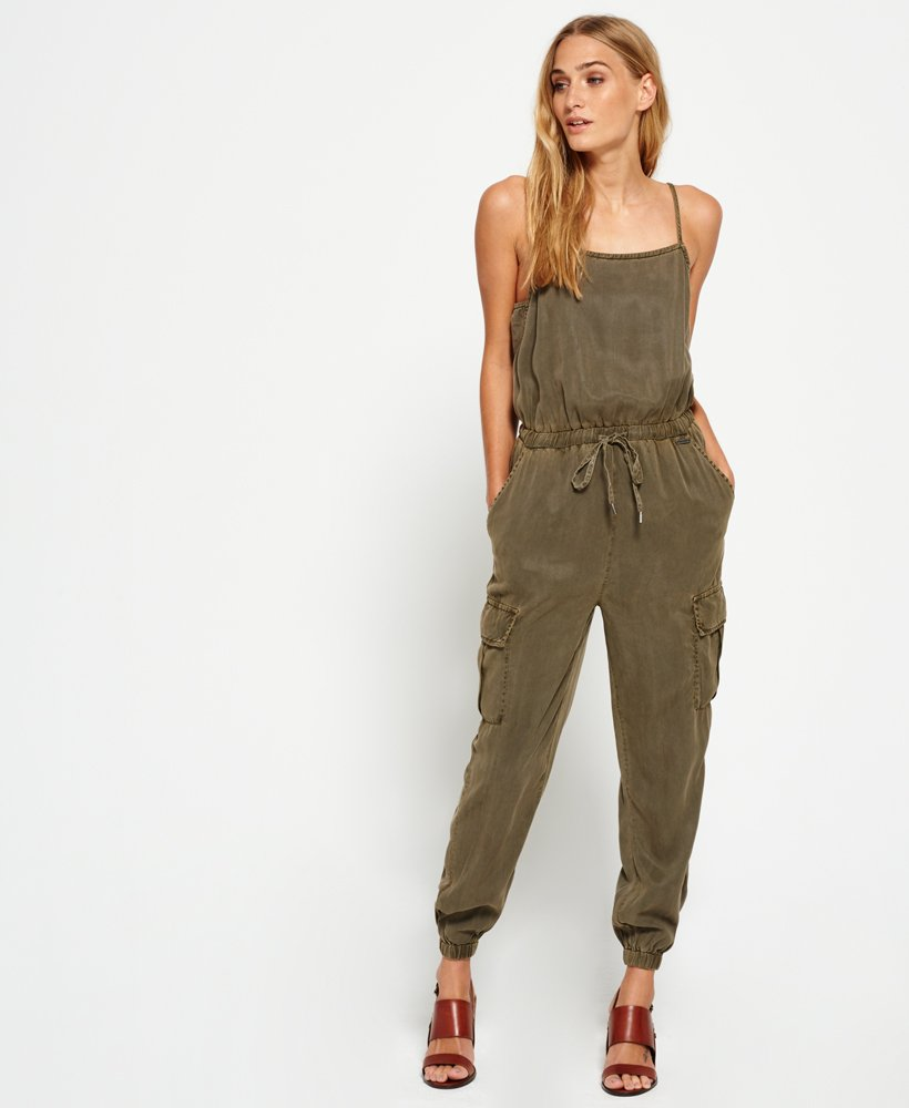 Superdry Cargo Casual Jumpsuit  thumbnail 1