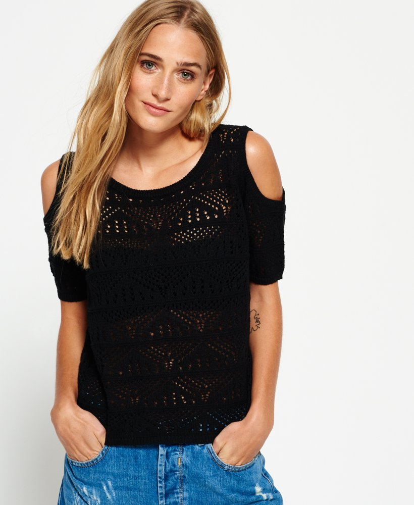Superdry Top en crochet Makena Cove Tops pour Femme