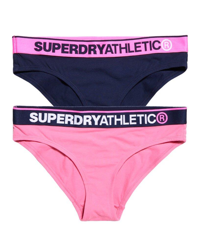 Superdry Lot de deux Slips Athletic