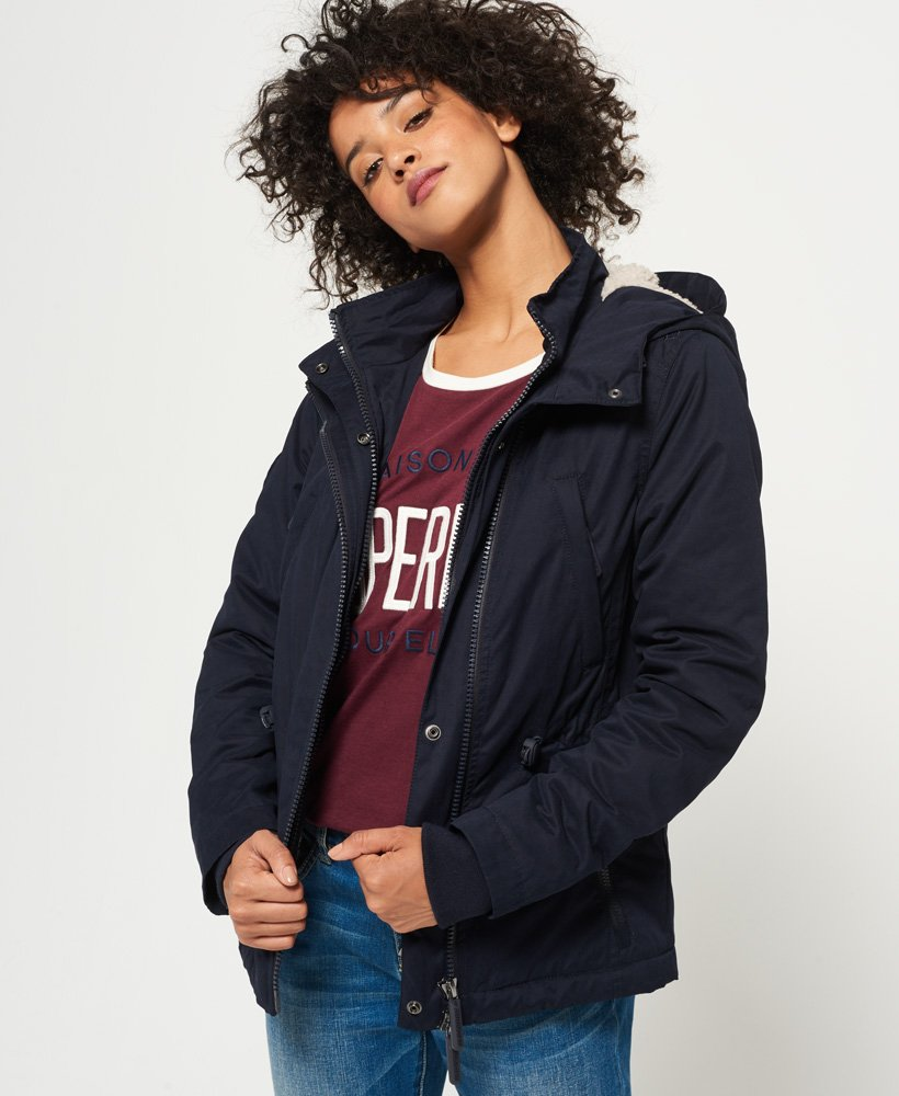 Superdry Boxy Snorkle Hooded SD-Windparka Jacket