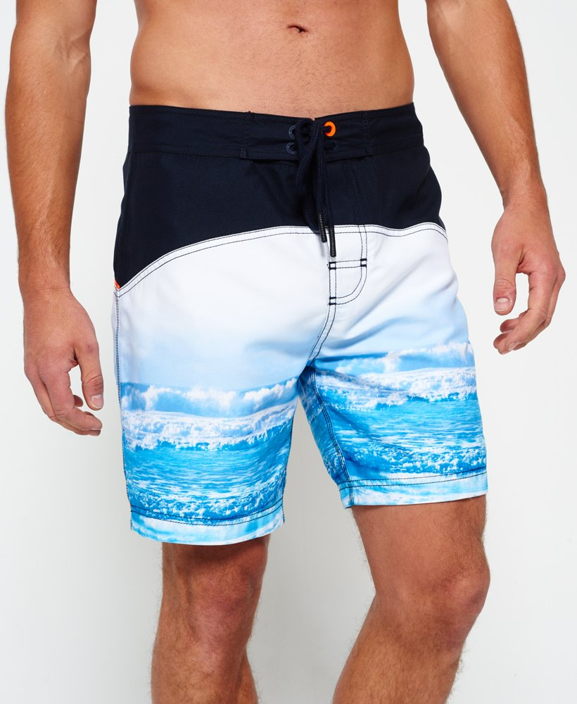 Superdry Surplus Goods Photo Swim Shorts