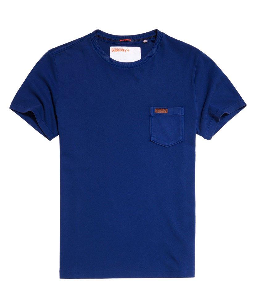 superdry l a t shirt mit tasche herren t shirts. Black Bedroom Furniture Sets. Home Design Ideas
