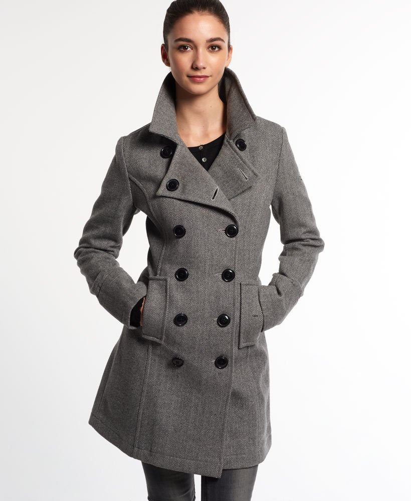Superdry mantel damen khaki