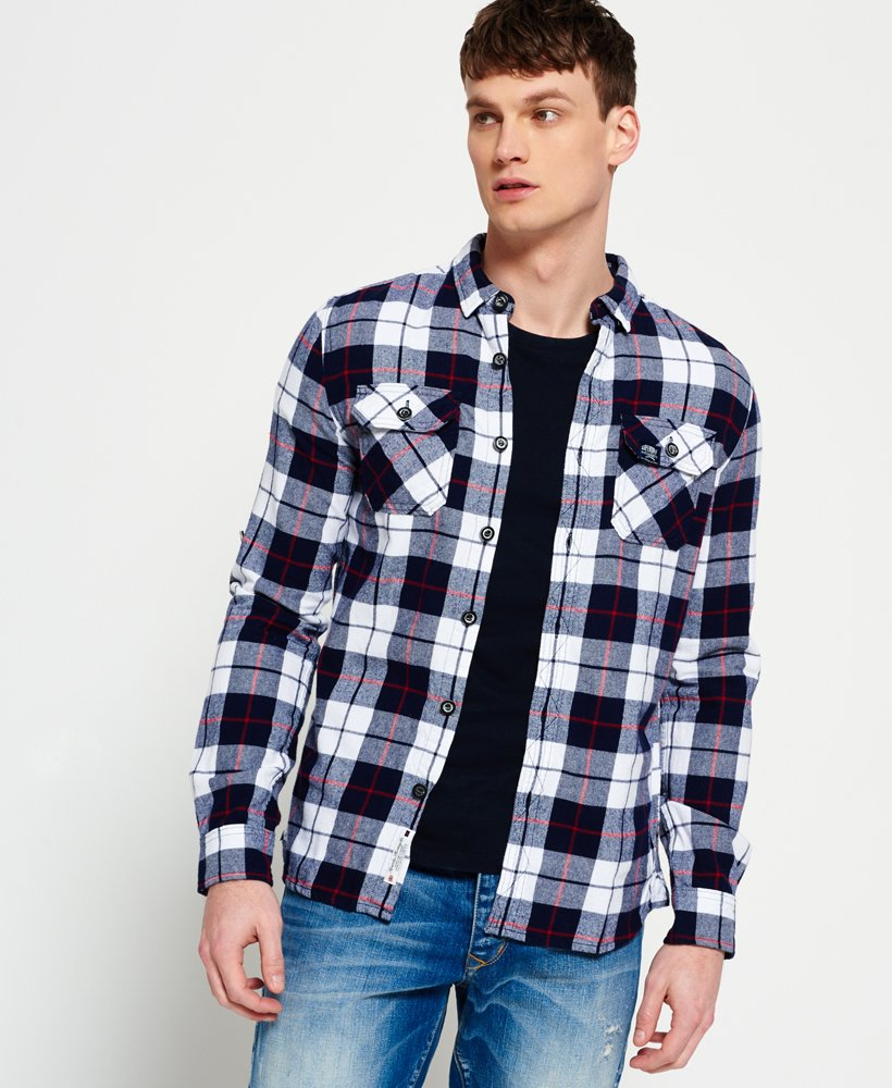 Superdry Lumberjack skjorte Herre Skjorter