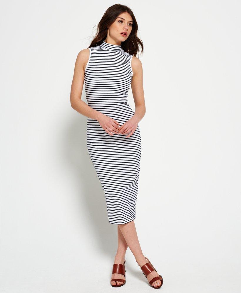 Superdry Midi-jurk met trechterhals