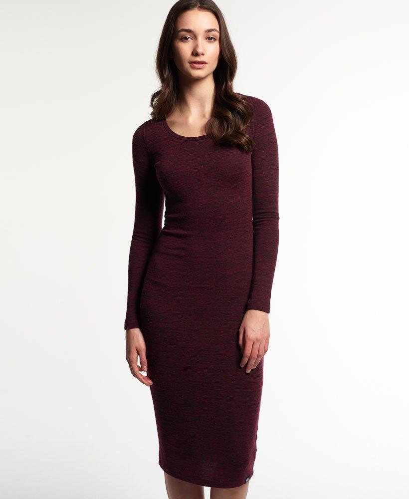 Superdry Essentials Twist Midi Dress