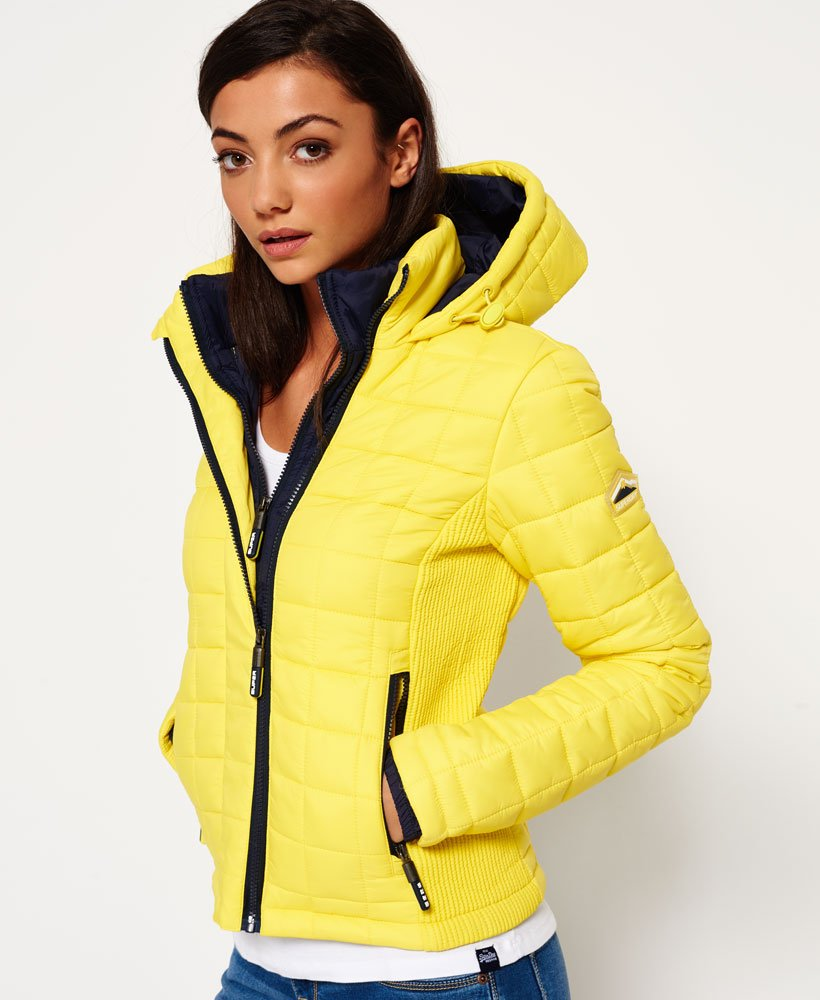 Superdry Hooded Box Quilt Fuji Jacket Women's Jackets and