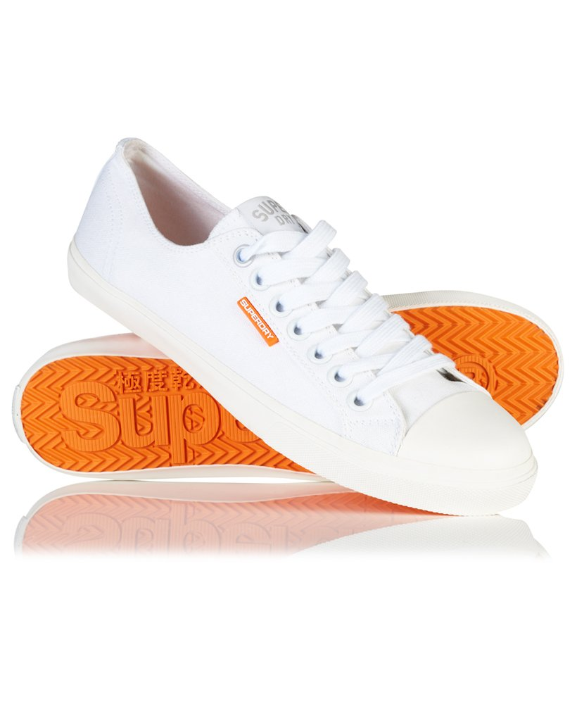 Mens - Low Pro Sleek Sneakers in White